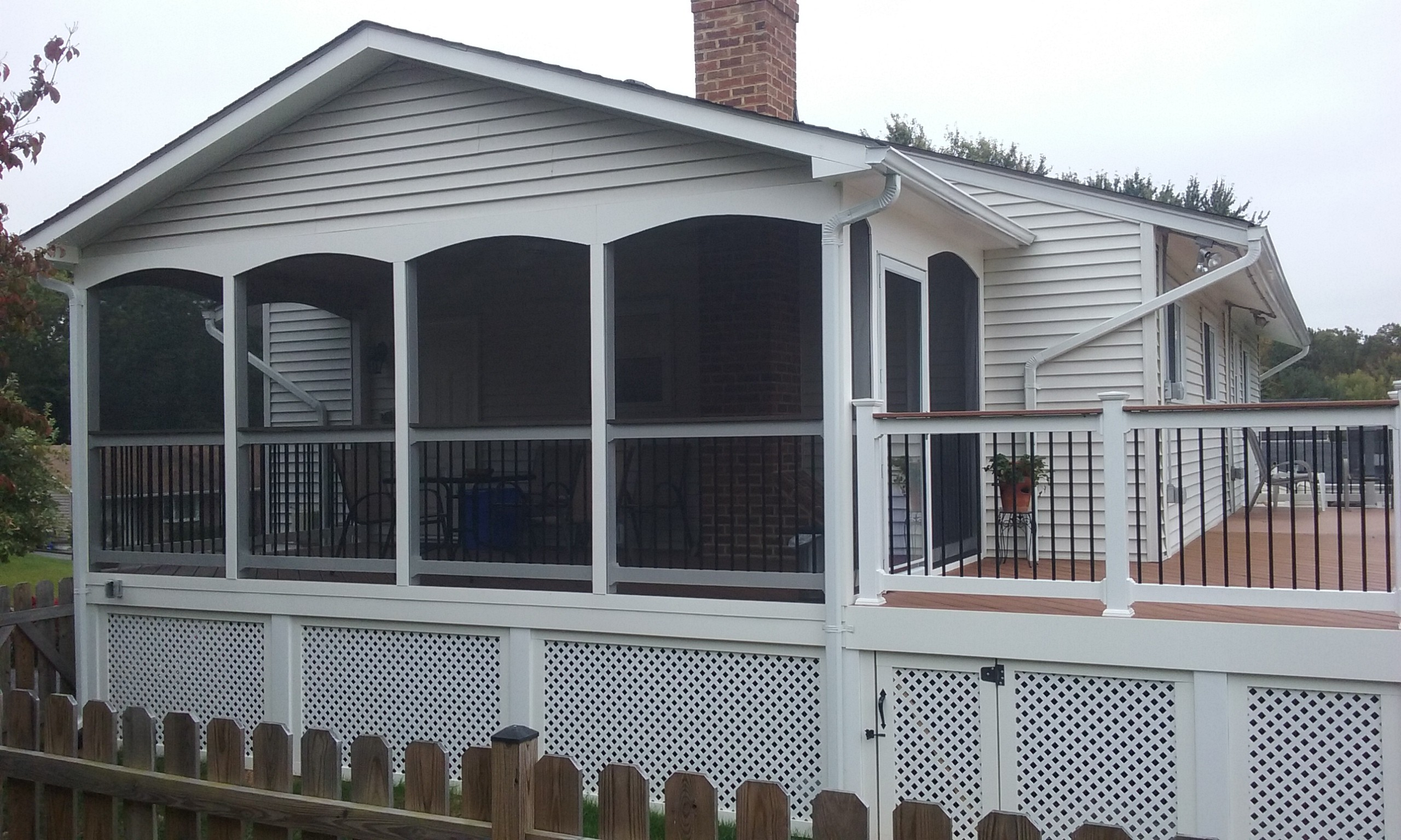 Decks in Frederick County, Maryland